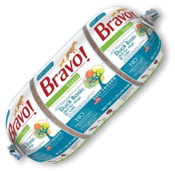 Bravo Basic Frozen Duck 1lb {L-1} SD-5 294057