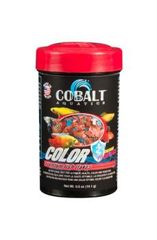 Cobalt Color Flakes Fish Food .5oz