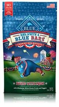 Blue Buffalo Red Wht Blu Bars 8z Case of 8