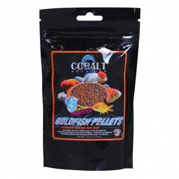 ColbaltGoldfish Pellets - Small - 4 Oz.