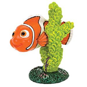 Penn Plax Ornmt Nemo Gn Coral Mini
