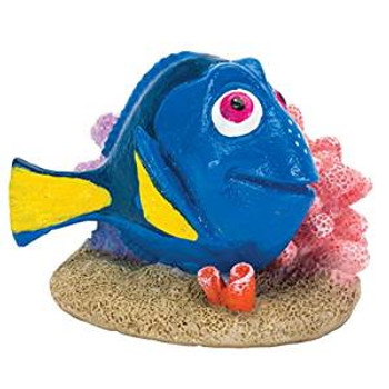 Penn Plax Ornmt Dory With Coral Md