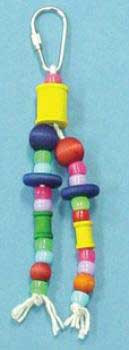 Bobs Wood Bird Brainers Spool And Disk Toy 8in