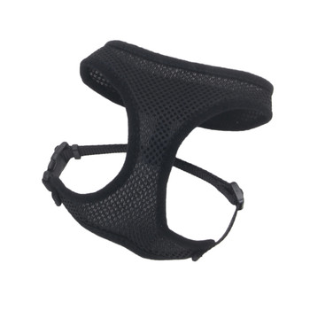 Coastal Comfort Soft Adjustable Harness Black X-small