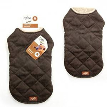 Afp Lambwool Jacket Brown Medium (5242) {requires 3-7 Days before shipping out}