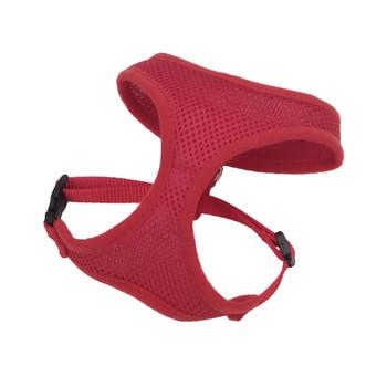 Coastal Comfort Soft Adjustable Harness Red X-small