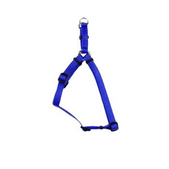 Coastal Comfort Wrap Adjustable Nylon Harness Blue 3/4x20-30in