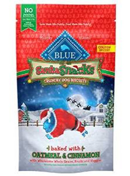 Blue Buffalo Hol Santa Snk Trt 8z Case of 8