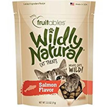 Fruitables Wildly Natural Cat Treats Salmon 12/2.5oz {L-1}953067