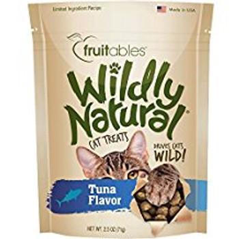 Fruitables Wildly Natural Cat Treats Tuna 12/2.5oz {L-1}953068