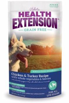 Health Extension Gf chicken /tky Dog 1 lb Case of 12