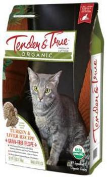 Tender - True Orgc Tky/lvr Dry Cat 7 lb Case of 5