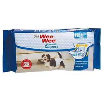 Four Paws Diaper Disposable Xs 12pk