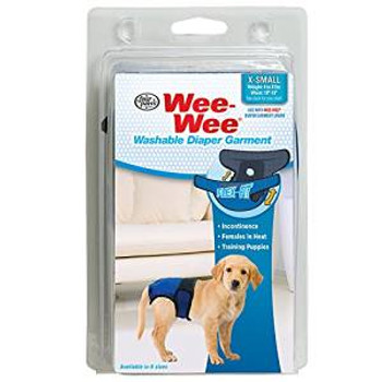 Four Paws Diaper Wee-wee Garment Xs