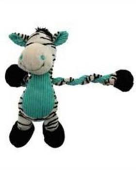 Charming Pet Toy Pulleez Zebra