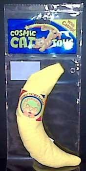 Cosmic 100% Catnip Filled Banana - A-peeling