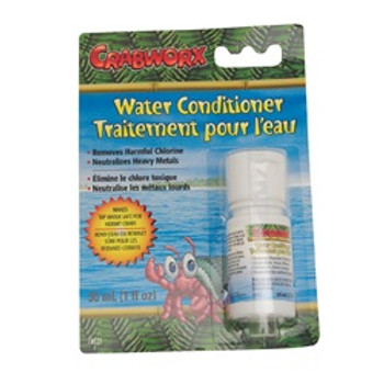 Crabworx Water Conditioner 1oz. {requires 3-7 Days before shipping out}