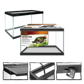 "Zilla Critter Cage 10 Gallon Black 20x10x12"" H NO SHIPPING Free Store Pickup Only SD-X"