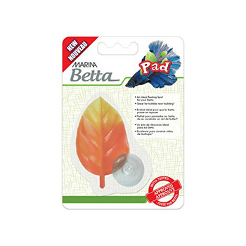 Bettas Naturally Seek Out Leaves To Rest And Conserve Their Energy. The Marina Betta Pad Provides A Safe, Non-toxic Environment And Will Also Promote Bubble Nesting Which Is A Sign Of A Healthy And Happy Fish.    Key Features  :     Made From Safe, Fade-r