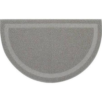 This Practical Trapping Mat By Catit Is Perfect For Keeping The Area Near Your Cat's Litter Pan Clean And Tidy. The Mat Has A Soft Surface With Flexible Fibers That Gently Dislodge And Collect Litter From Your Cat's Paws As They Step On It. As A Result, L