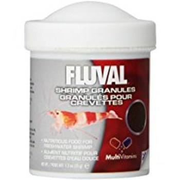 Fluval Shrimp Granules Is A Highly Palatable Diet That Provides Freshwater Shrimp With A Rich Source Of Nutrients, Iodine, Proteins, And Multi-vitamins. The Shrimp Granules Contain Advanced Yeast Extracts That Help Support A Healthy Digestive System And T