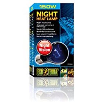 Exo Terra Night Heat Lamp 150w Pt2059{L+7}