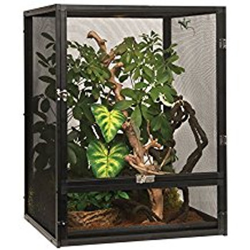 The Exo Terra Screen Terrarium Is A Perfect Habitat For Arboreal Reptiles And Amphibians That Are Sensitive To Stagnant Air. The Non-restricted Air-flow Provides Optimal Ventilation While Minimizing Odors And Fungus Growth In Your Reptile's Habitat. The S