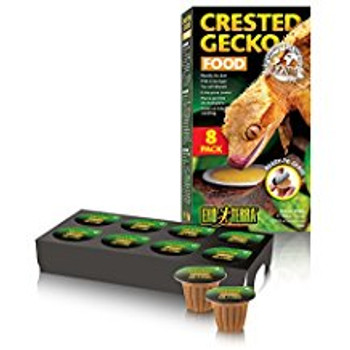 The Exo Terra Crested Gecko Food Is A Nutritious Food Blend That Is Specially Designed For Growth And Long Term Health Of Crested Geckos And Other Gecko Species. In The Wild, They Feed Primarily On Mature Fruits, Nectar, Pollen And Flowers; But Will Occas