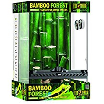 The Exo Terra Bamboo Forest Habitat Kit Comes With All The Components Necessary For A Successful Start. All Components Are Based On The Knowledge Gathered During Years Of Research In The Madagascar Bamboo Forests.   The Ingenious Exo Terra Natural Terrari