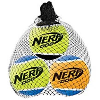 Squeak Tennis Balls, 3pk, Sm 2in (1385)