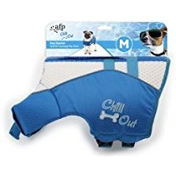 Afp Chill Out Dog Life Jacket Med (8221)