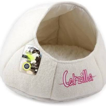 Afp Catzilla Nest Cat Bed, White (2484)