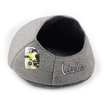 Afp Catzilla Nest Cat Bed, Grey (2485)