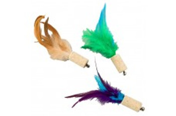 Ethical Cat-Bernet Cork Toy Assorted 5in