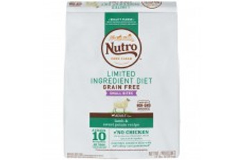 Nutro Limited Ingredient Diet Grain Free Lamb & Sweet Potato Small Bites Dog Food 11lbs