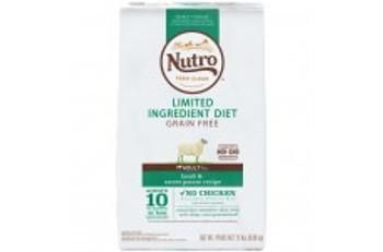 Nutro Limited Ingredient Diet Grain Free Lamb & Sweet Potato Recipe Dog Food 22lbs