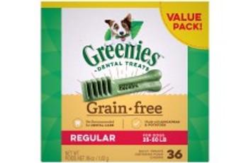 Greenies Grain Free Regular 36oz
