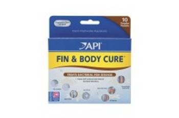 Aquarium Pharmaceuticals API Fin & Body Cure Powder