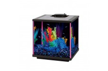 Aqueon NeoGlow LED Aquarium Kit Pink 5.5gal