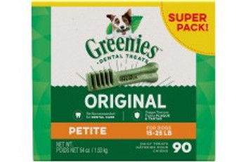 One GREENIES Original Dental Treat a day is all it takes for clean teeth, fresh breath and a happy dog. Your dog can #;t wait to sink their teeth into these delicious, original-flavor dental dog chews because they feature a delightfully chewy texture t