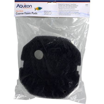 This pad is designed for Aqueon QuietFlow Canister Filter 200. Aqueon Filter Media can be used with various fish tank filters (hang-on-the-back, internal, canister, sump, etc.) to improve appearance and quality of aquarium water for fish. ƒ?› Designed for use with Aqueon QuietFlow Canister Filter 300gph and 400gph unitsƒ?› Performs both mechanical and biological filtrationƒ?› Traps large debris particles found in waterƒ?› For use with freshwater or saltwater applications