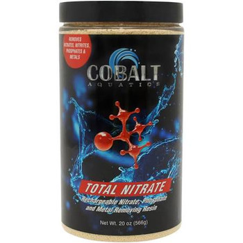 Blend-Tech Total Nitrate is a fast acting, high capacity, regnerable, nitrate removing resin perfect for use in all aquariums. It absorbs nitrate from the water which contribute to poor fish health. Can be regenerated more than 200 times for long-term value.