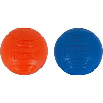 Chuckit!? Strato Balls are perfect for strong chewers who love a game of fetch! Made of durable rubber, Strato Balls are launcher compatible and bright enough to provide high visibility for your dog. Designed so that they bounce higher than standard tennis balls, the Strato Ball will keep your dog engaged and satisfied. Promotes healthy exercise and provides mental stimulation for your pet. Easy to clean.
