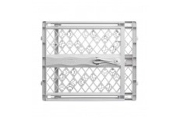 The Paws Portable Petgate is a quick position, 23 inch high gate that will keep your pet safe and secure while teaching him boundaries throughout the house. You #;ll appreciate how easy this pet gate is to operate, just expand the gate in the opening a
