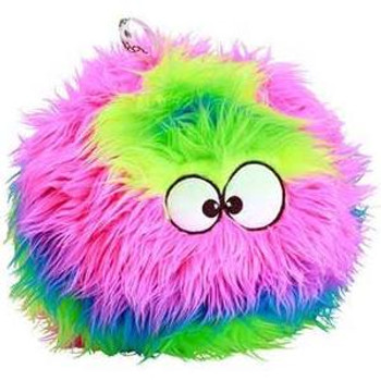 """GoDog Furballz Chew Guard Dog Toy, Rainbow, Large GoDog Furballz Chew Guard Rainbow Dog Toy is cute, rugged and made for hour after hour of chewing fun.  This sturdy toy features an integrated squeaker dogs go crazy for and a round shape that s great"""""""