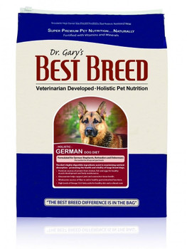 Best Breed German Dog Diet Holistically Promotes The Health And Happiness Of Larger Size Dogs, Including German Shepherds, Rottweilers And Dobermans. This Formula Was Developed By Dr. Gary After He Repeatedly Saw German Shepherds Come To His Clinic With G