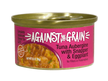 Totally Different! Eggplant, Wild Ocean-caught Snapper And Tuna Fish Are Hand Packed And A Hand-selected Blend Of Unique Proteins And Superfoods To Serve Your Cat A Fancy French-style Healthy And Palatable Complete And Balanced Dinner. Taste Tests Rated 1