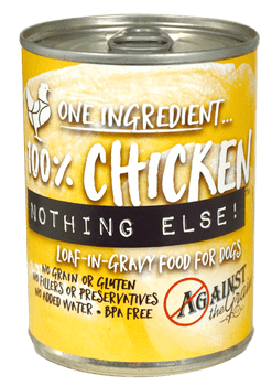One Ingredient  Nothing Else. New Loaf-in-gravy Texture. Unlike Any Other Product On Shelves. Bpa-free Cans, No Grains, No Glutens, No Gums.