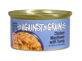 Evangers Against The Grain Farmers Market Grain Free Chicken Mayflower With Turnip Canned Cat Food-2.8-oz, Case Of 24-{L+1}