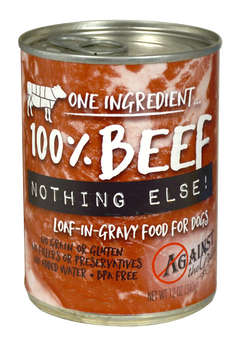 One Ingredient  Nothing Else. New Loaf-in-gravy Texture. Unlike Any Other Product On Shelves. Bpa-free Cans, No Grains, No Glutens, No Gums.-grain Free And Gluten Free-no Gums-no Corn Wheat Or Soy-made